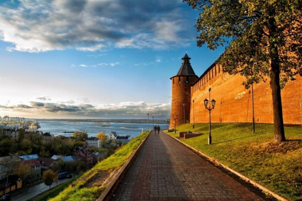 Знакомство с Нижним Новгородом