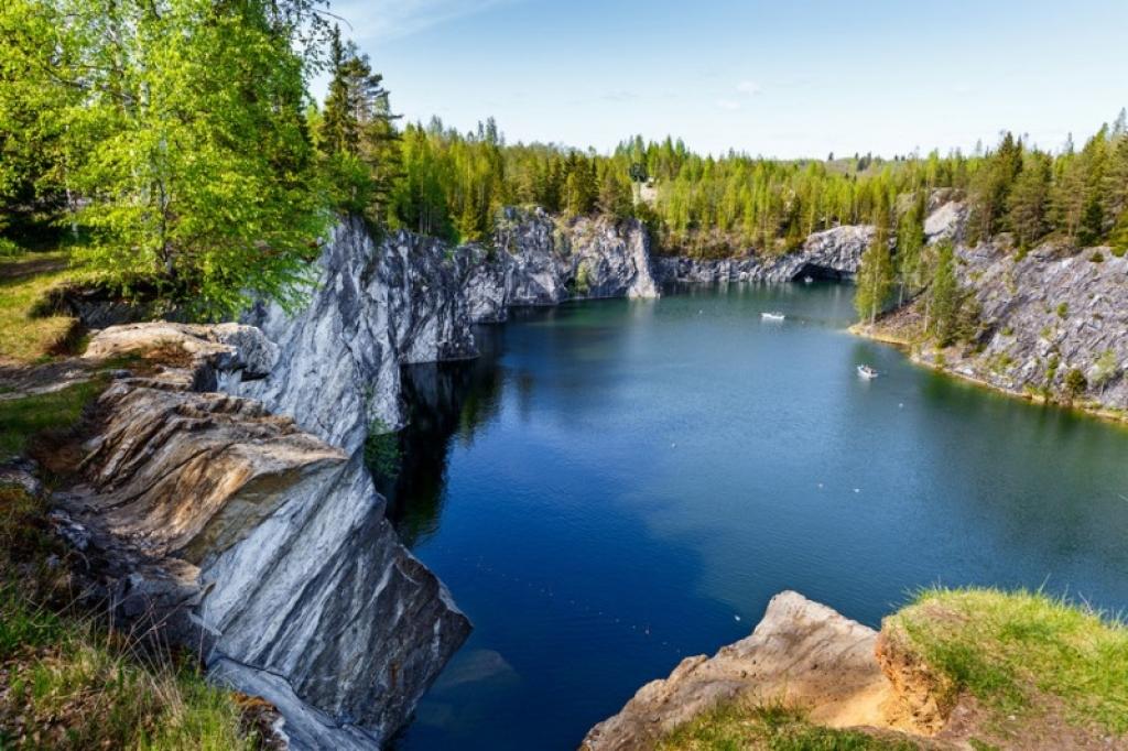 """Экскурсия в мраморный каньон Рускеала + Сортавала (""""Комфорт Плюс"""")"""